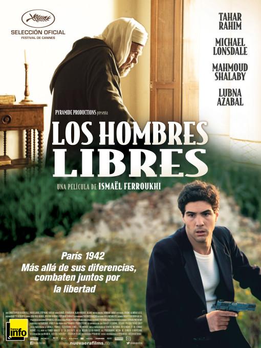 208 Los hombres libres Poster boceto