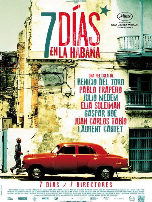 211 Siete dias en La Habana Poster Salida