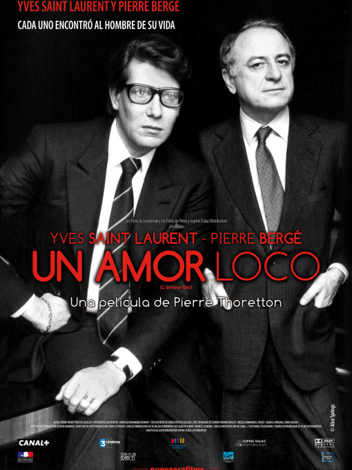 Cartel Un amor loco 70x100