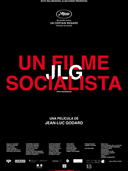 Cartel Un filme socialista 70x100